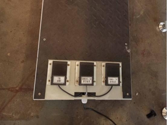 the control padel of automatic mattress tape edge machine