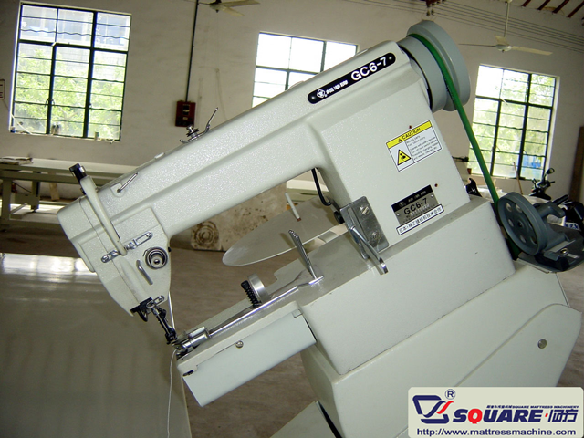 Model FB1 Manual Mattress Tape Edge Machine