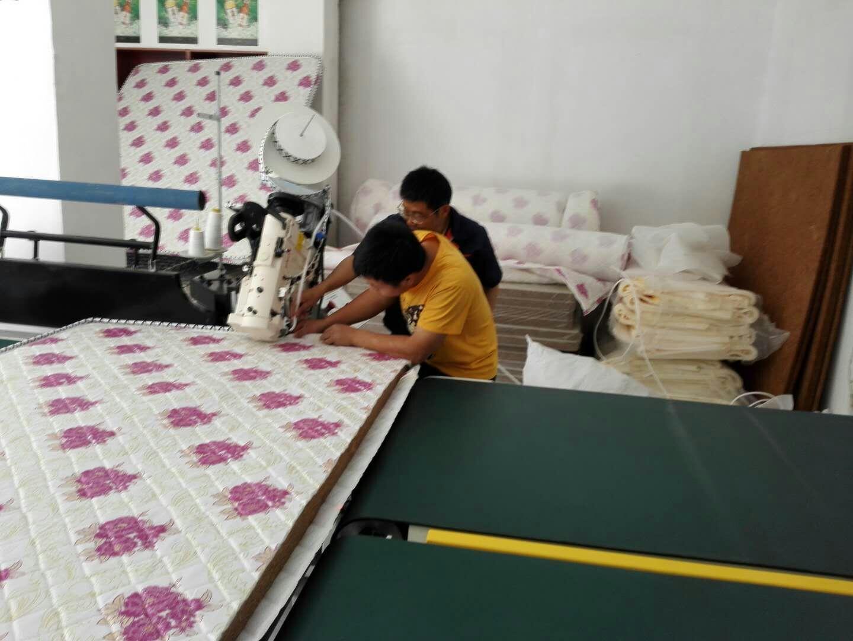 coir mattress sewing training