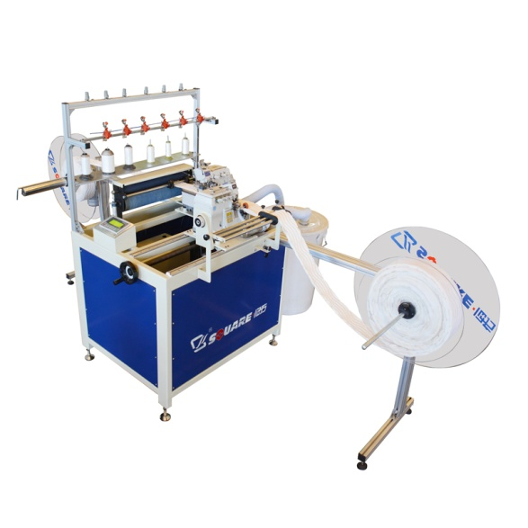 Automatic mattress border double overlock sewing machine save your time and labor