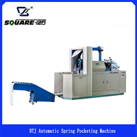 BTJ Automatic Spring Pocketing Machine