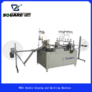 WKH1 Mattress Border Double Serging and Quilting Machine