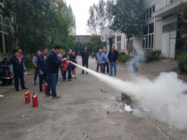 Square Mattress Machinery conducts fire drills to improve employee responsive capabilities