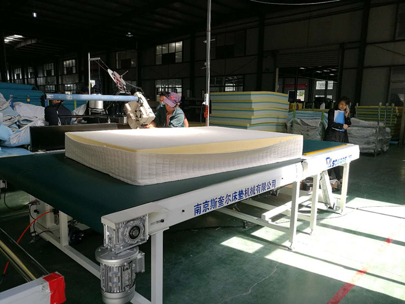 Precautions for installation and use of automatic mattress tape edge machine